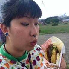 Ramen Burger - oooh!